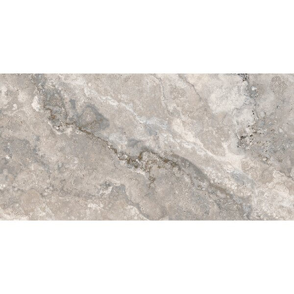 Montana 12 x 24 Porcelain Field Tile in Silver by Parvatile