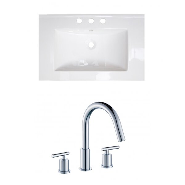 Flair 24 Single Bathroom Vanity Top