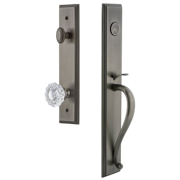 Carré S Grip Dummy Handleset with Versailles Interior Knob by Grandeur
