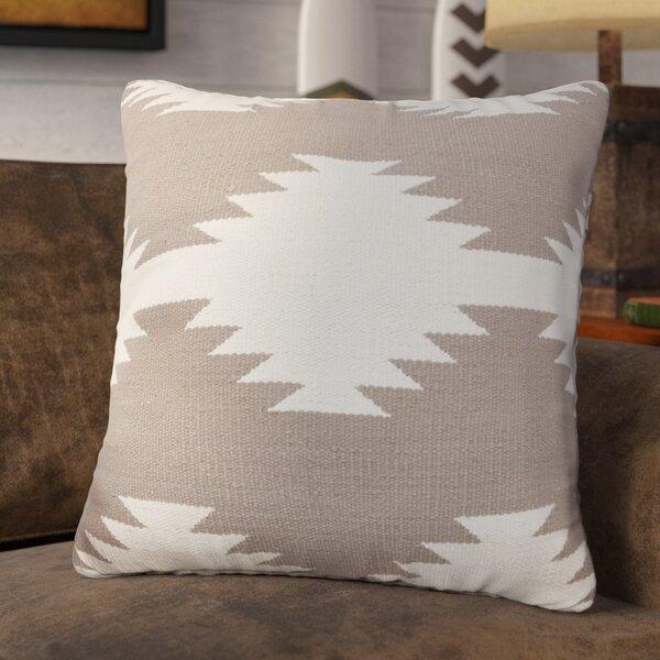 Kilim Cotton Throw Pillow by Loon Peak