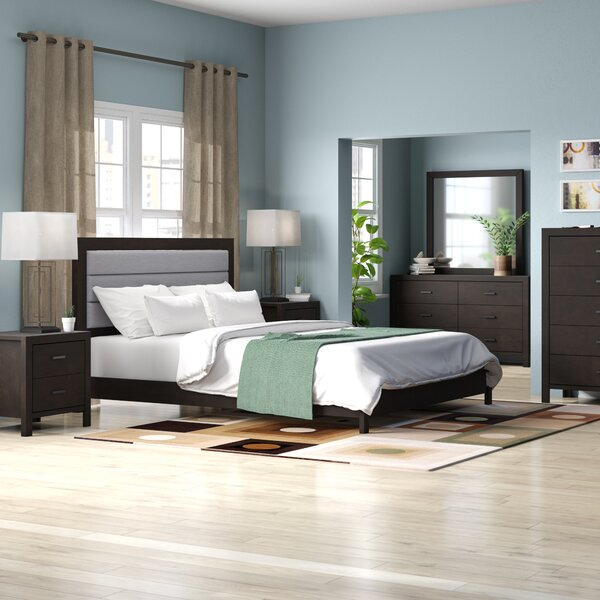 Vanderhoff Panel 5 Piece Bedroom Set by Latitude Run