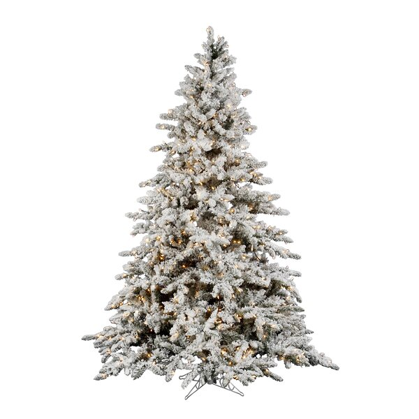 new style 401d1 b725d Flocked Christmas Trees You'll Love in 2019 | Wayfair.ca