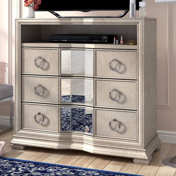 Sorrel 3 Drawer Combo Dresser by Rosdorf Park