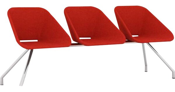 Red Three Seater by B&T Design