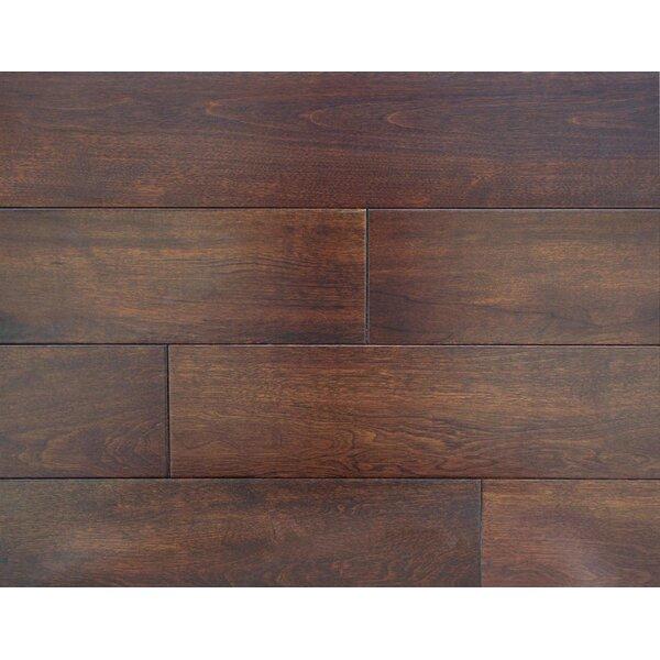 Harrington 4-3/4 Solid Maple Hardwood Flooring in Maple by Alston Inc.