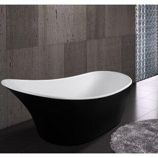 63 x 26 Freestanding  Soaking Bathtub By AKDY
