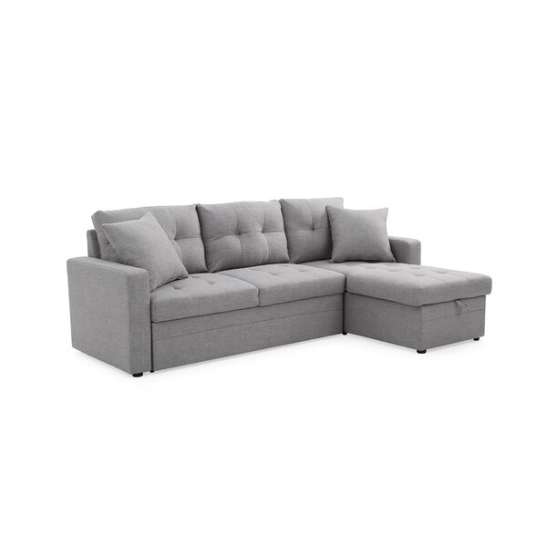 Best #1 Clarke Sleeper Sectional By Ebern Designs Amazing