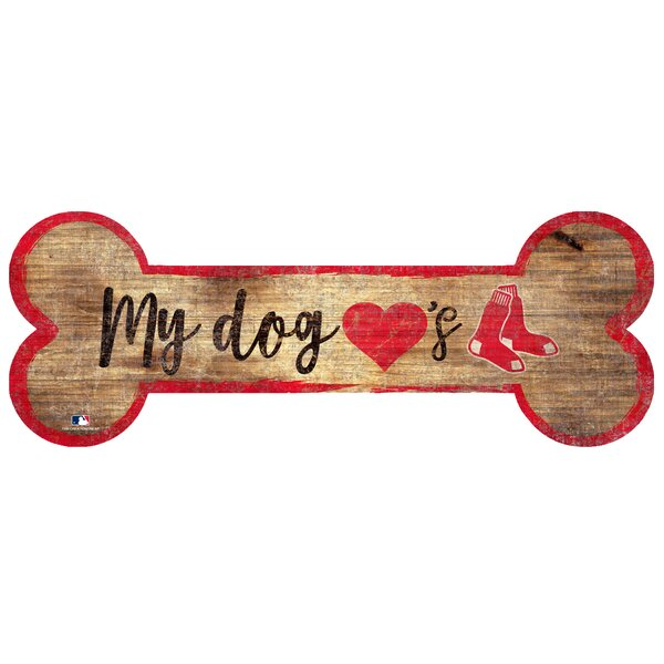 Dog Bone Sign Wall Decor by Fan Creations