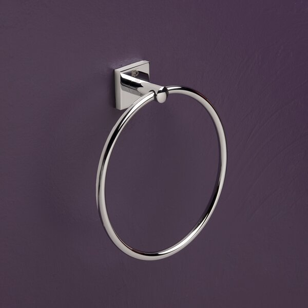 Quaruna Wall Mounted Towel Ring by Bissonnet