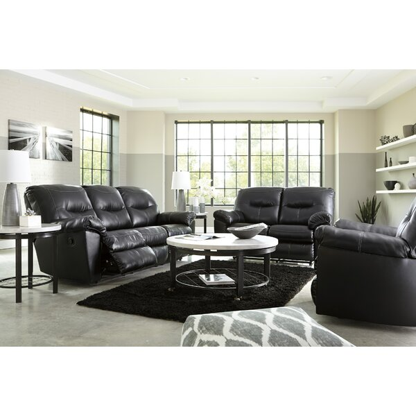 Burkes Reclining Configurable Living Room Set by Red Barrel Studio