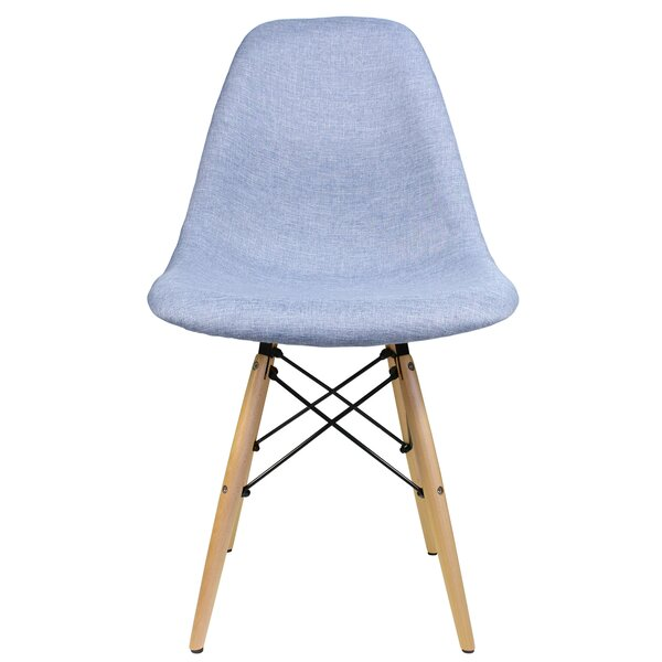 Denim Side Chair By EModern Decor Today Sale Only