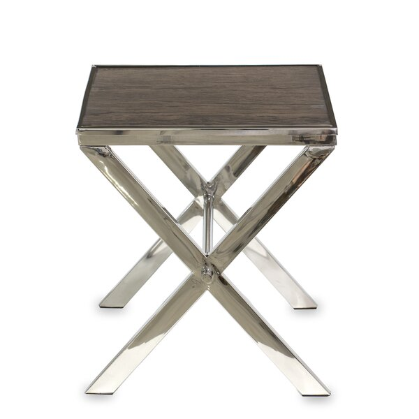 Charla End Table by Brayden Studio