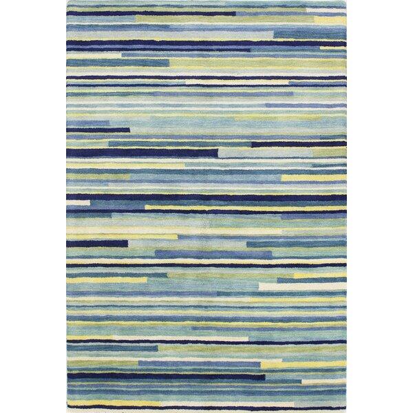 Baliny Hand-Tufted Blue Area Rug by Latitude Run