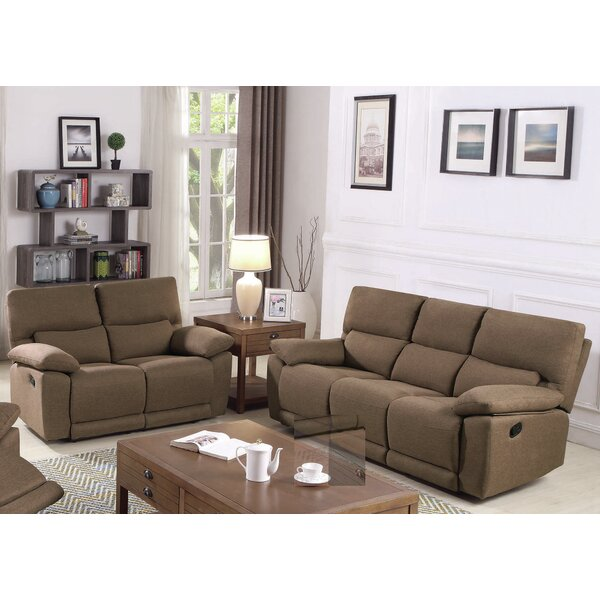 Oaklawn Motion 2 Piece Reclining Living Room Set by Red Barrel Studio