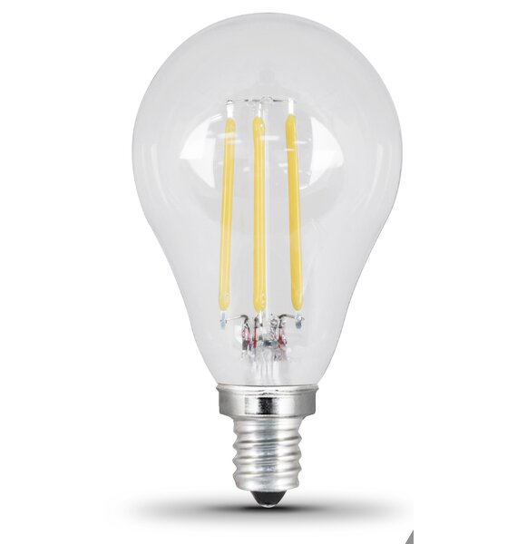 60W Clear E12/Candelabra LED Light Bulb by FeitElectric