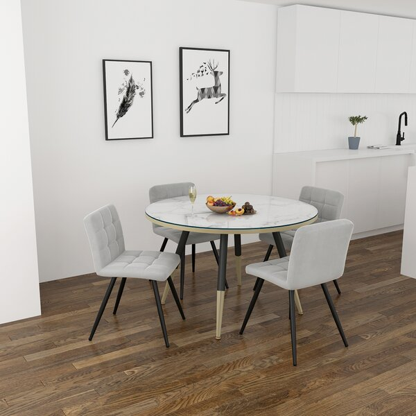 Melida 5 Piece Dining Set by Ivy Bronx Ivy Bronx