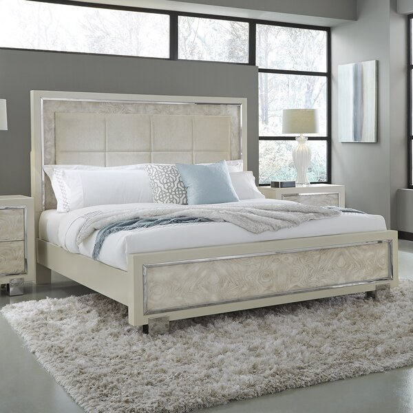 Rickman Upholstered Panel Bed by Rosdorf Park