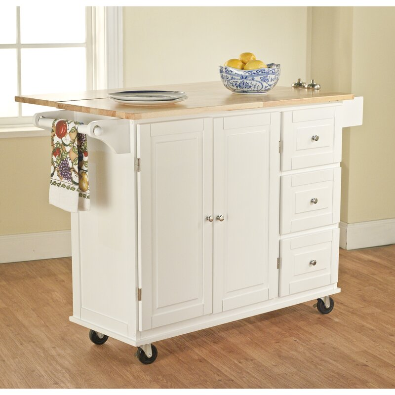 High Quality Hardiman Kitchen Island With Wood Top