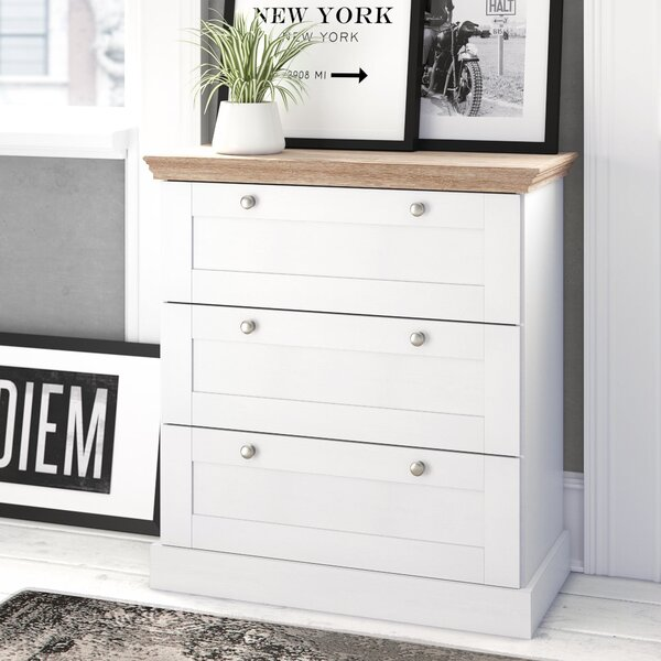3 Drawer Chest by East Urban Home