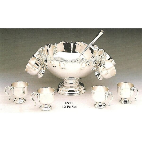 Seodat 12 Piece Punch Bowl Set by Astoria Grand