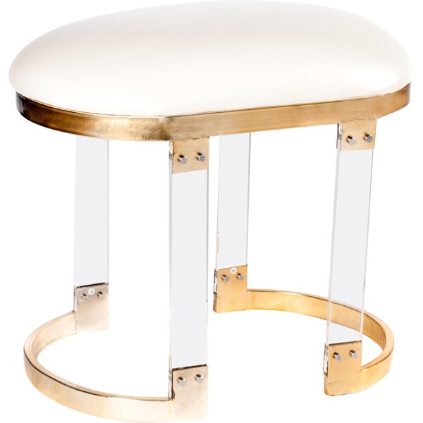 Milo Acrylic Stool by Statements by J