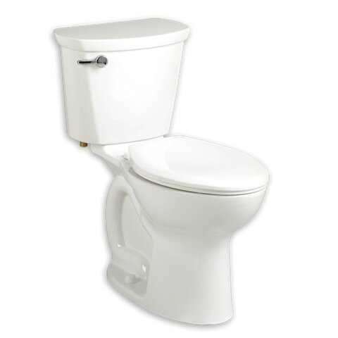 Cadet 1.6 GPF Round Two-Piece Toilet by American Standard