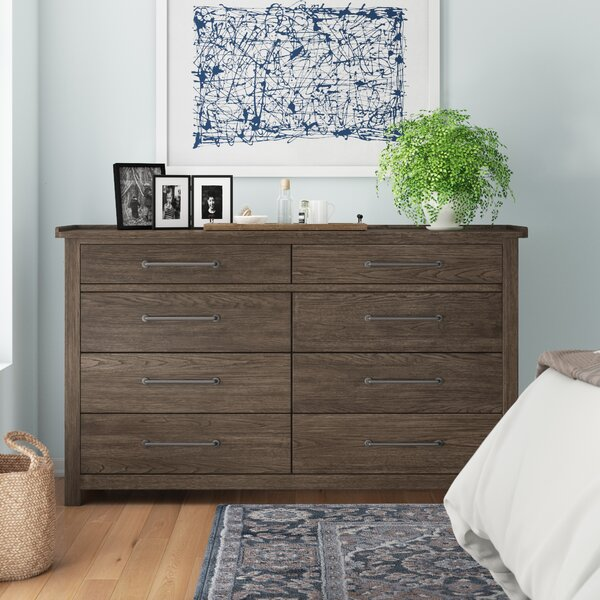 Bartow 8 Drawer Double Dresser by Three Posts
