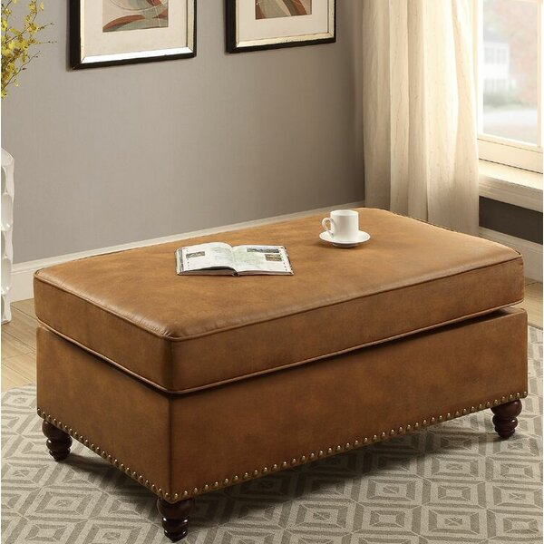 Haddix Cocktail Ottoman by Alcott Hill