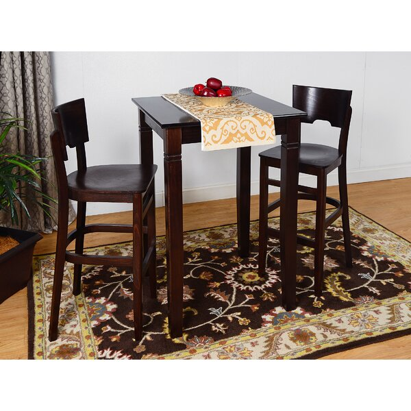 Eades Wood 3 Piece Pub Table Set By Darby Home Co Savings