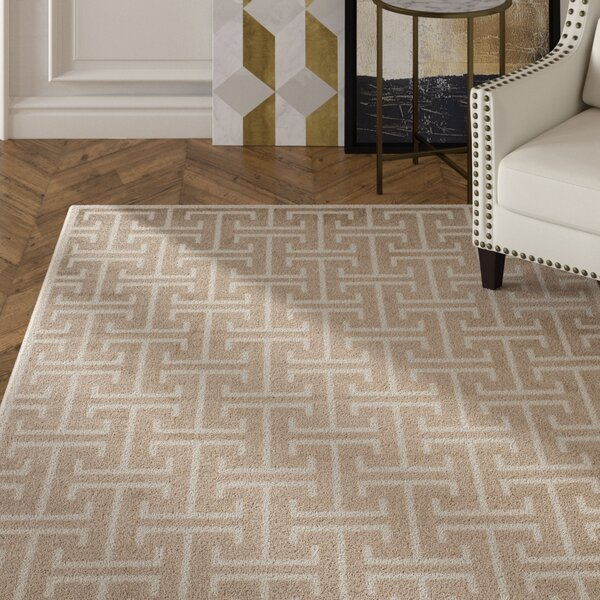 Fehi Wheat Area Rug by Everly Quinn