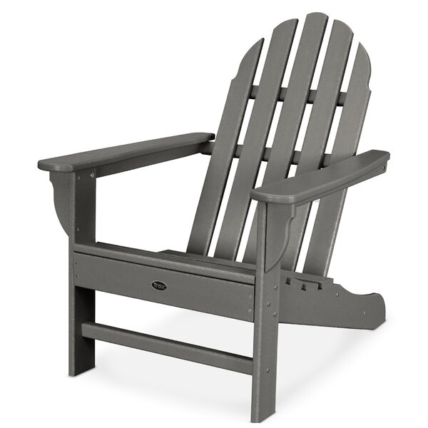 Cape Cod Recycled Plastic Adirondack Chair by Trex Outdoor Trex Outdoor