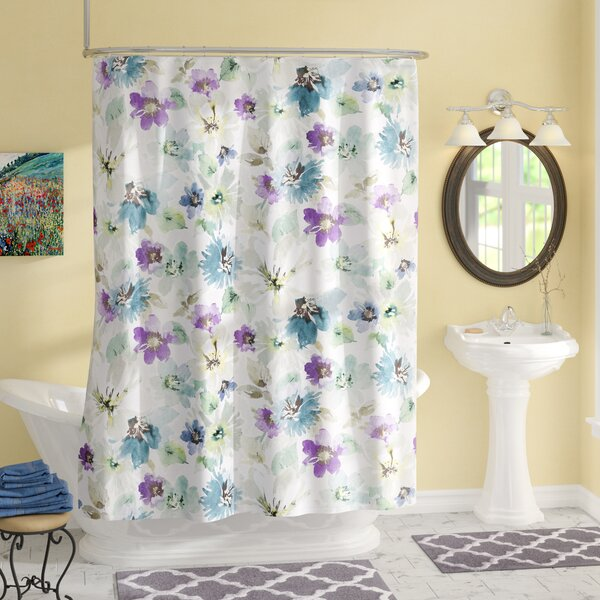 Oakdale Shower Curtain by Charlton Home