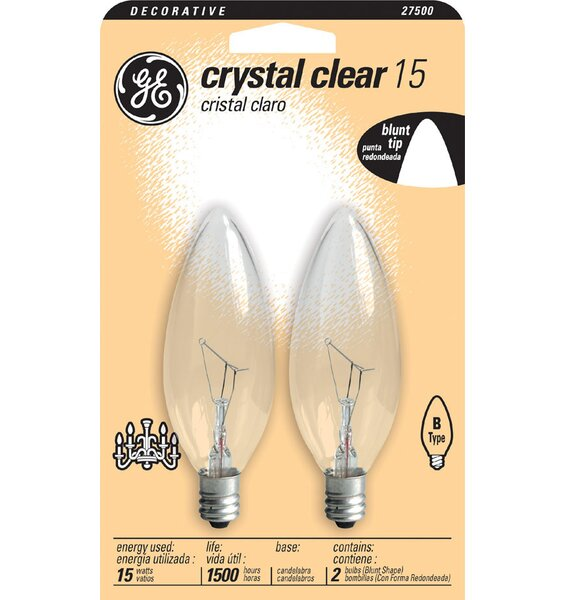 120-Volt (2500K) Light Bulb (Pack of 2) by GE