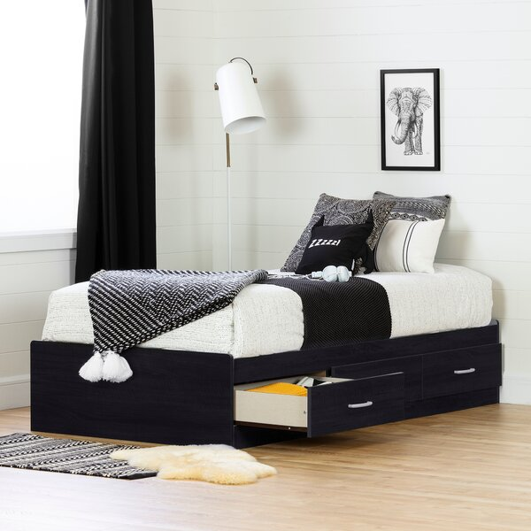 Cosmos Twin Mates Bed with Drawers by South Shore