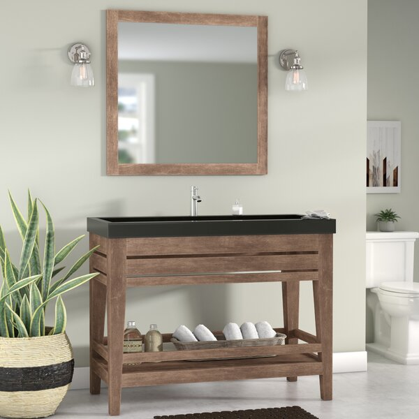 Madalyn 48 Single Bathroom Vanity with Mirror by Union Rustic