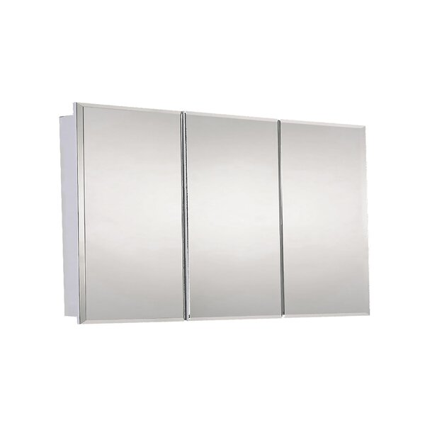 Nathanial 48 x 30 Surface Mount Medicine Cabinet with 3 Shelves