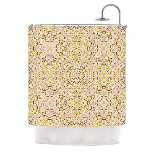 Hint by Allison Soupcoff Shower Curtain ByEast Urban Home