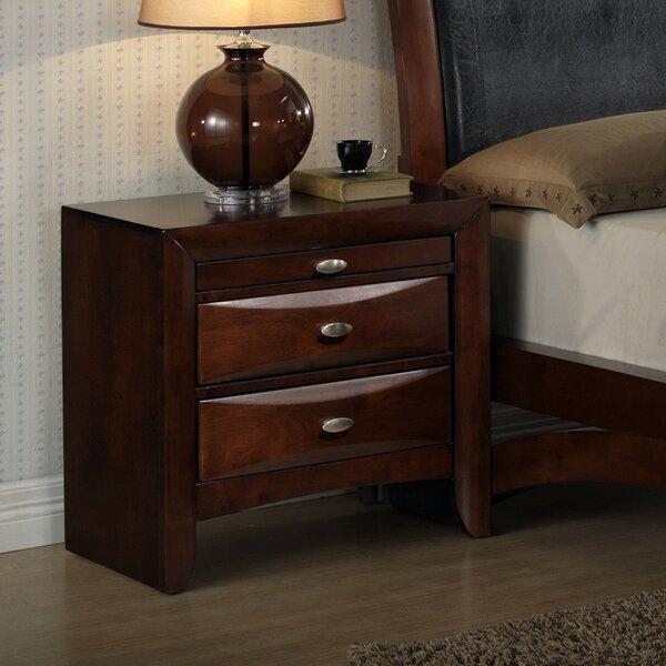 Alidge Platform Solid Wood 4 Piece Bedroom Set by Grovelane Teen
