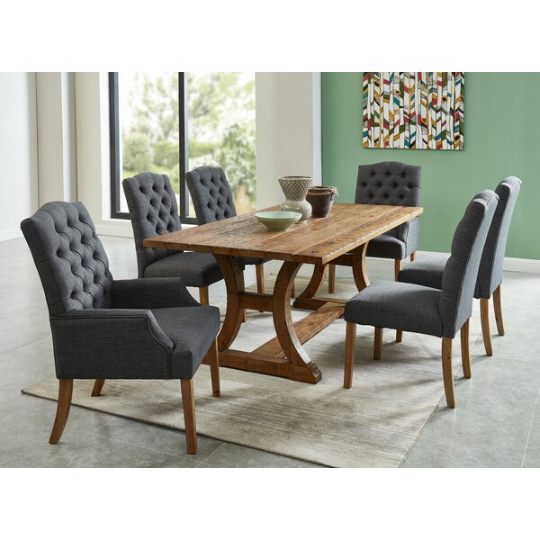Greiner 7 Piece Solid Wood Dining Set by Gracie Oaks