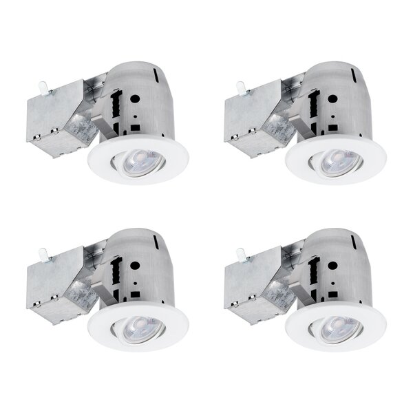 3 Recessed Lighting Kit (Set of 4) by Globe Electr