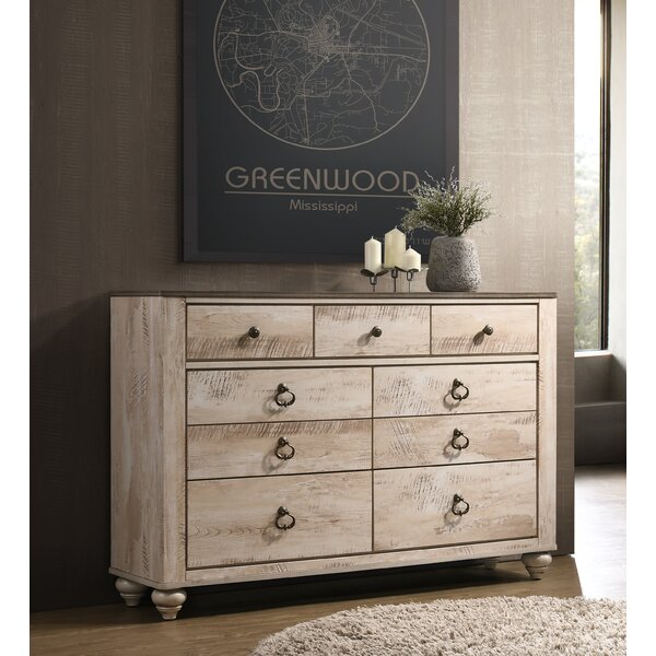 Tavistock 9 Drawer Dresser by Three Posts