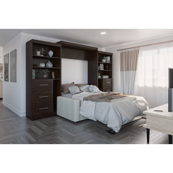 Pitsburg Storage Murphy Bed by Latitude Run Latitude Run