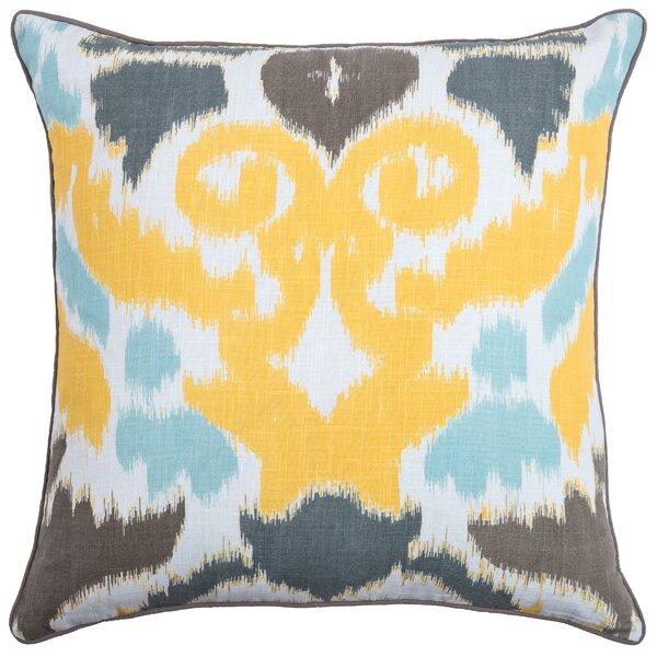 Chas Cotton Throw Pillow by Wildon Home ®
