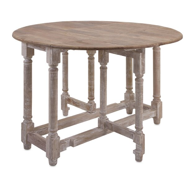 Larue Drop Leaf Extendable Dining Table by One Allium Way