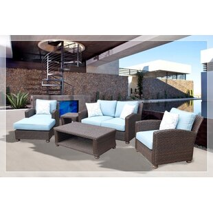 Harvey 5 Piece Sectional Set with Cushions ByRed Barrel Studio