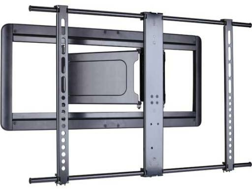 Super Slim Full-Motion Swivel/Extending Arm Wall Mount for 51-80 Flat Panel Screens by Sanus