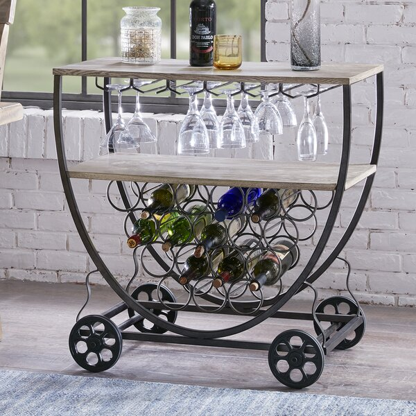 Sirius Bar Cart by Gracie Oaks