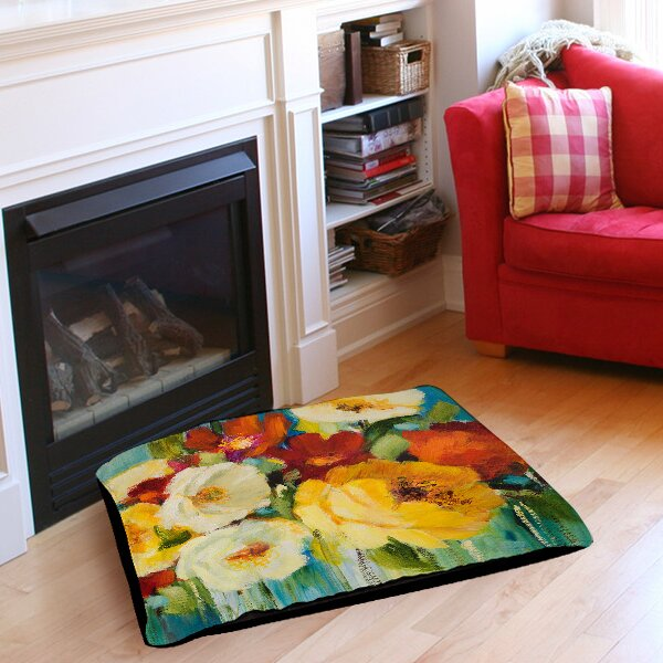 Flower Power 1 Pet Bed by Manual Woodworkers & Weavers