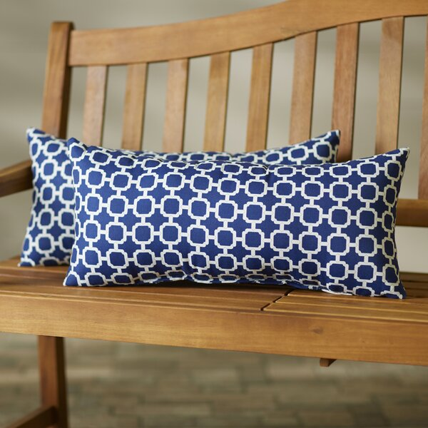 Aiyana Indoor/Outdoor Lumbar Pillow (Set of 2) by Willa Arlo Interiors