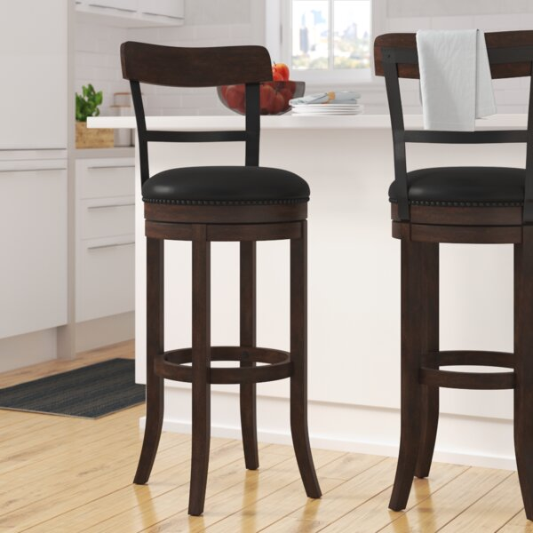 Carondelet 30 Swivel Bar Stool by Darby Home Co